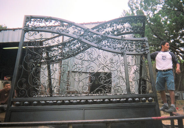 1000 Images About Custom Wrought Iron Gates On Pinterest