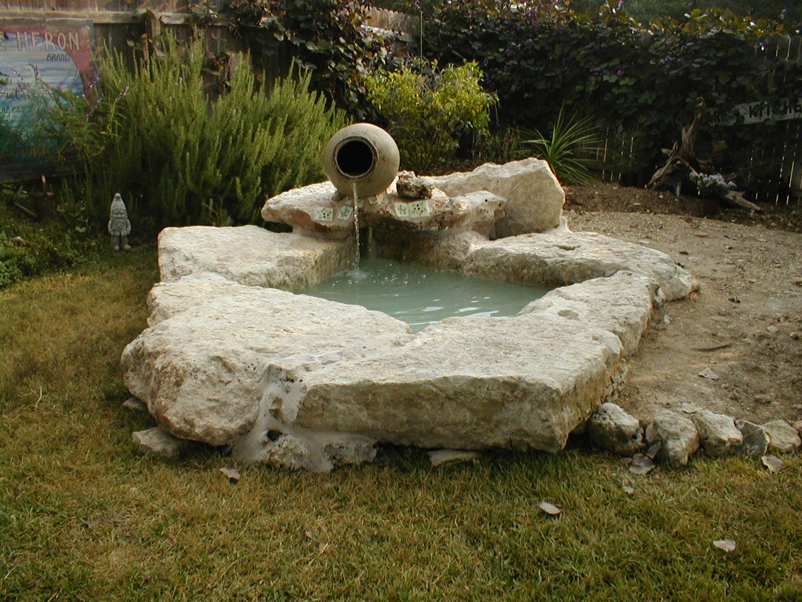 Evans weaver ponds and water features for Backyard ponds and water features
